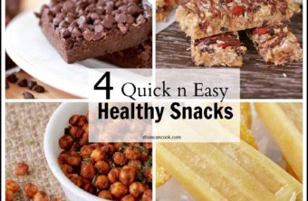 4 Healthy & Delicious Snack Ideas