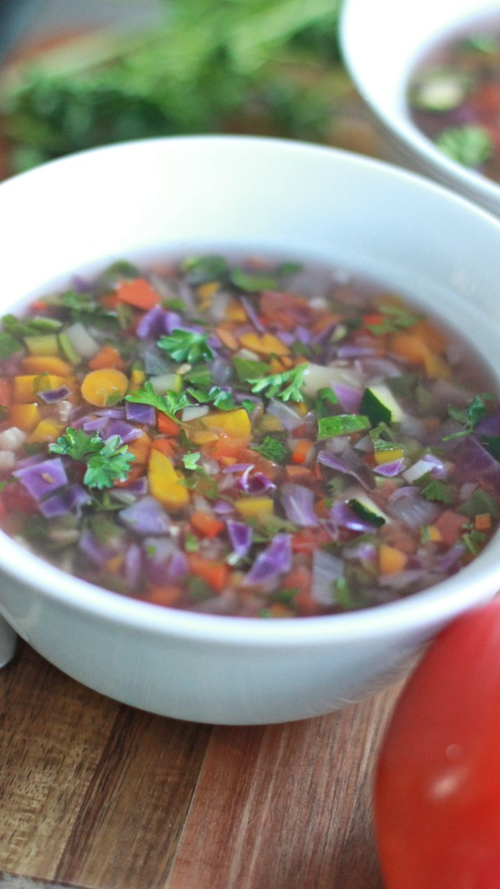 vegetable detox soup recipe