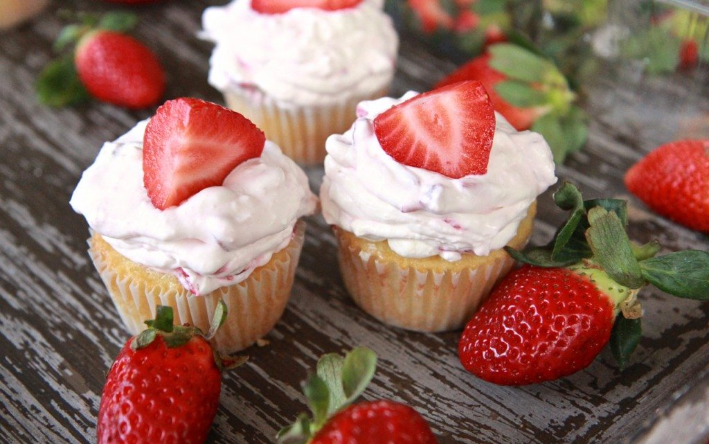 strawberry shortcake cupcakes recipe best