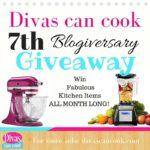 GIVEAWAY!! Divas Can Cook Blogiversary- ALL MONTH!