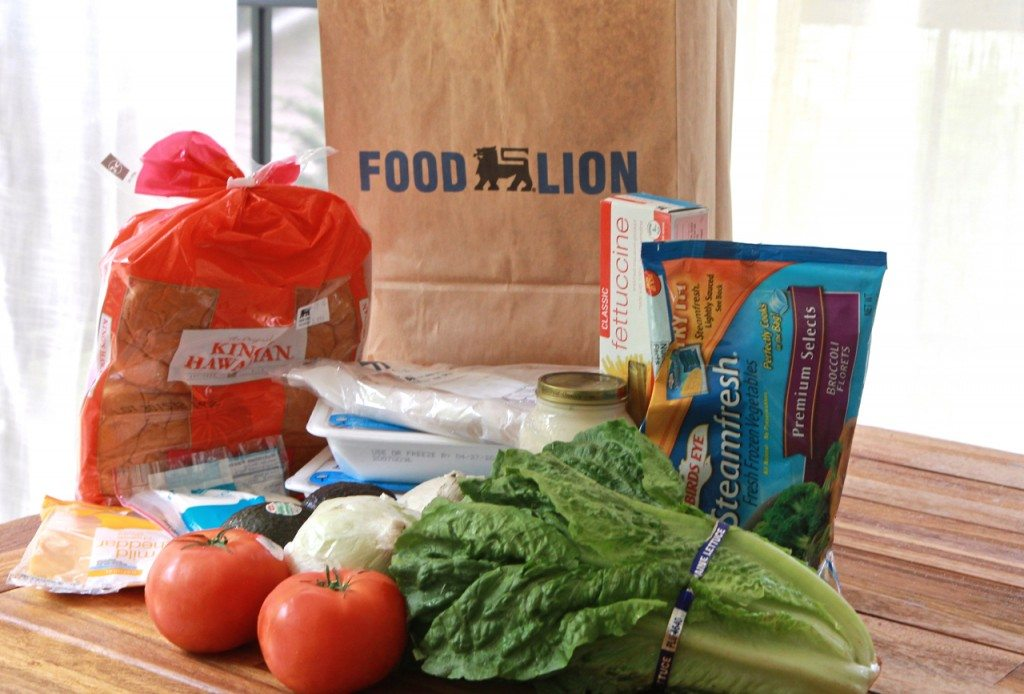 Waste Free Menu Planning With Foodlion 5 Dinners 1 Bag Divas Can Cook