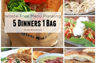 Waste-Free Menu Planning With FoodLion: 5 Dinners 1 Bag