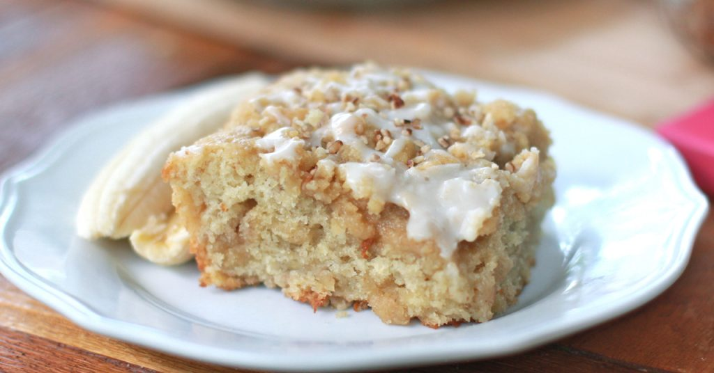 easy banana bread coffee cake