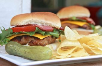 Garlic & Herb Turkey Burgers
