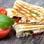 Chicken Bruschetta Quesadilla