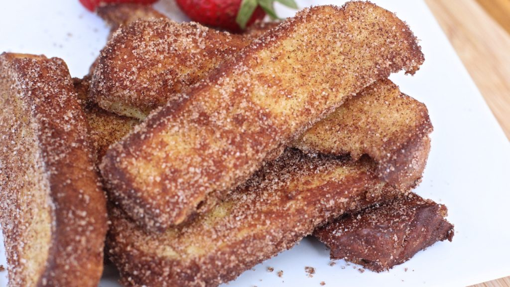 Cinnamon Sugar French Toast Sticks Recipe
