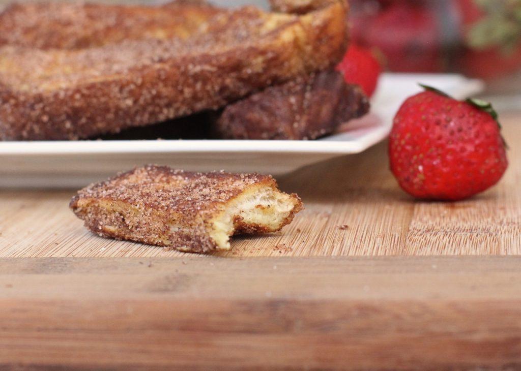 cinnamon sugar french toast stick