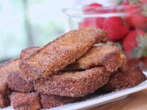 Cinnamon Sugar French Toast Sticks Recipe