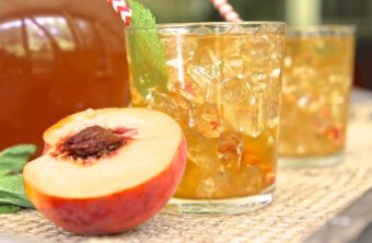 Southern Fresh Peach Iced Tea