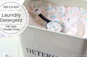 Homemade Laundry Detergent Recipe- REQUESTED!