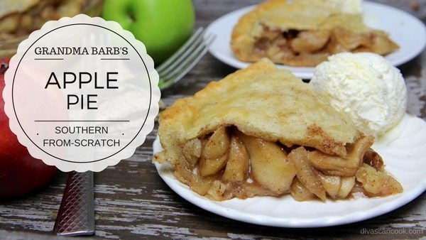 Grandma Barb's Homemade Apple Pie #1
