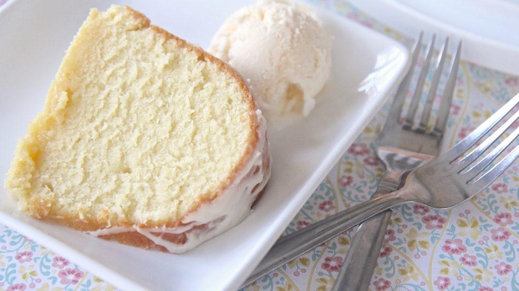 All Butter Pound Cake Recipe