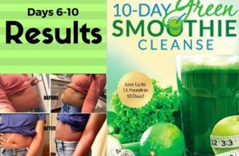 10-Day Green Smoothie Cleanse RESULTS!
