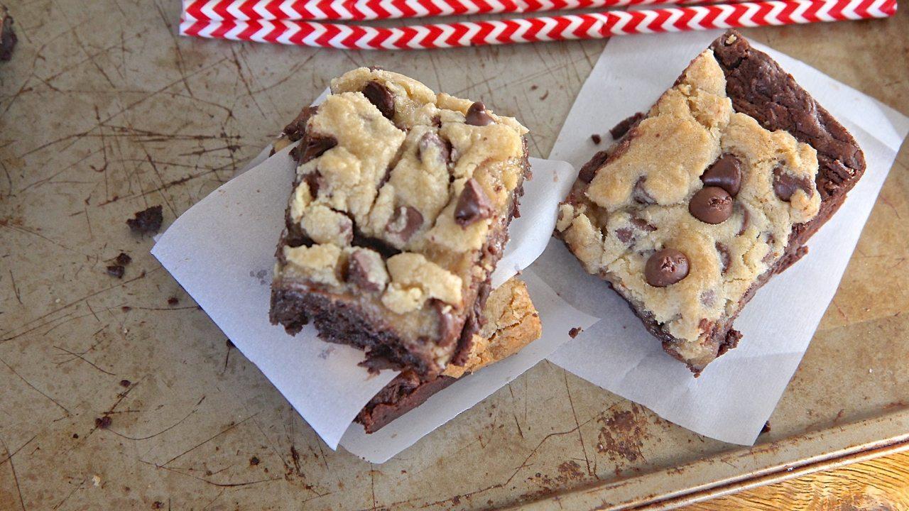 Homemade Chocolate Chip Brownie Cookies