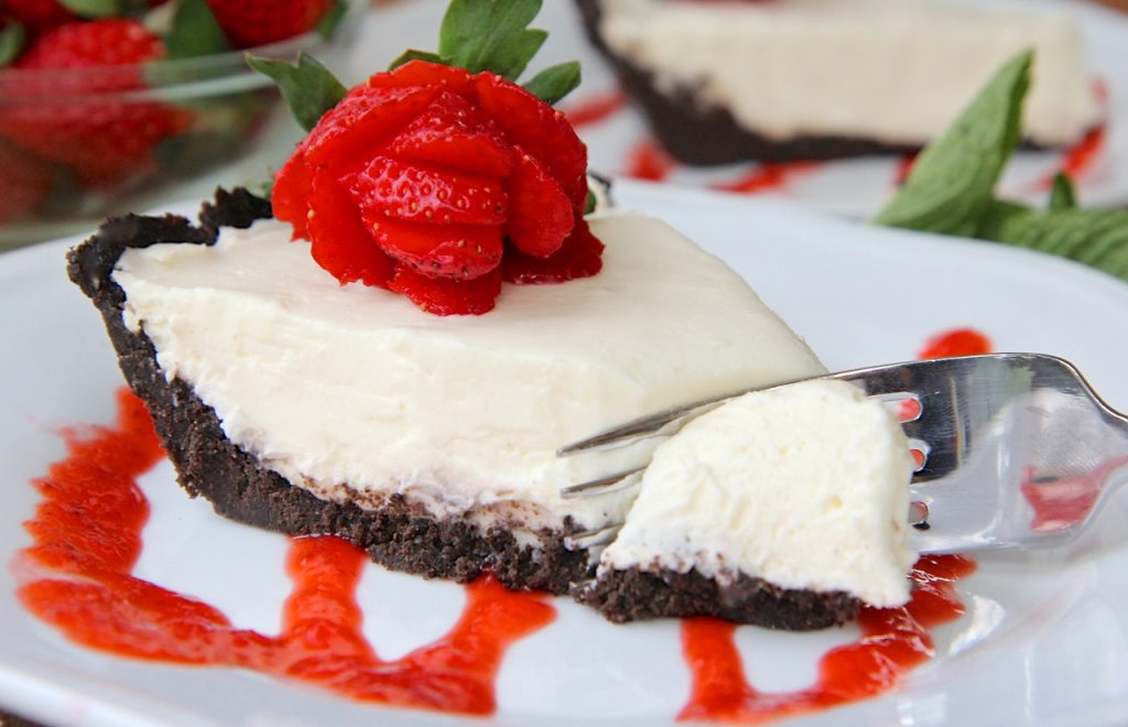 NoBake Triple Chocolate Cheesecake Divas Can Cook