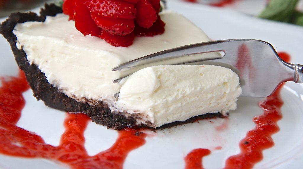 No Baked White Chocolate Cheesecake Recipe