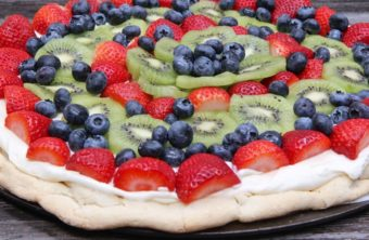 Homemade Fruit Pizza Recipe