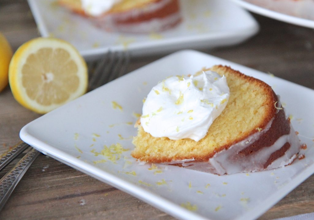 Easy Southern Lemon Pound Cake Recipe
