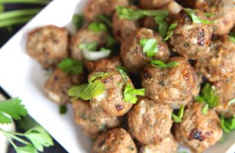 Baked Turkey Meatballs (For Anything Meatballs)