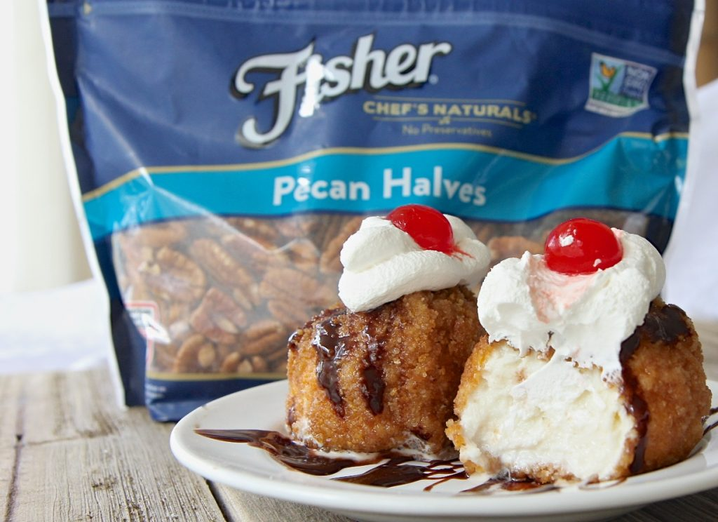 Easy fried ice cream recipe divas can cook since i have nothing to compare my recipe to ill take his word for it this fried ice cream is truly amazing the crust is crunchy and so perfectly sweet ccuart Choice Image