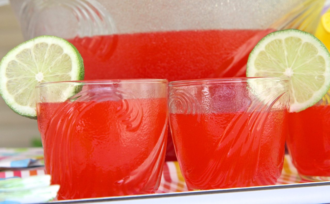 Simple Party Fruit Punch Non Alcoholic