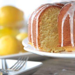 from scratch lemon pound cake