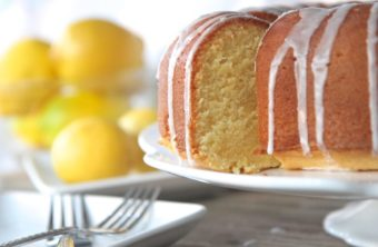 Southern Lemon Pound Cake (From Scratch)
