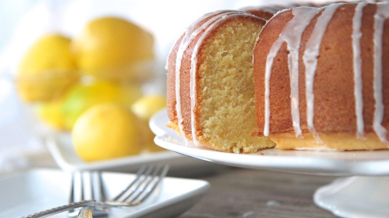 Southern Lemon Pound Cake (From Scratch)