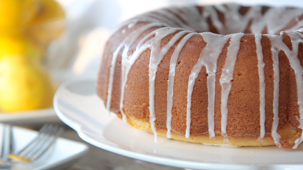 Southern Lemon Pound Cake Recipe