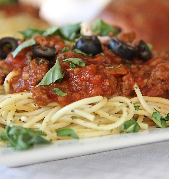 Easy Homemade Spaghetti Sauce, From-Scratch