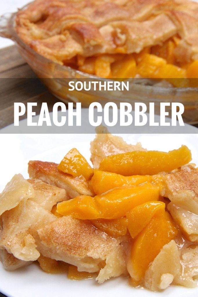 Image result for peach cobbler