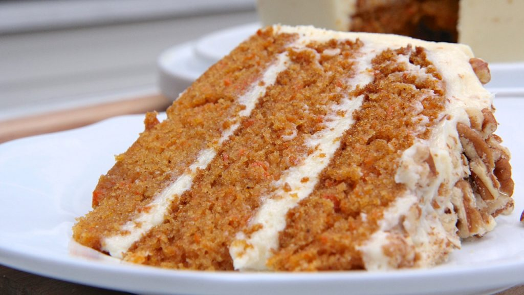 Carrot Cake Made From Scratch