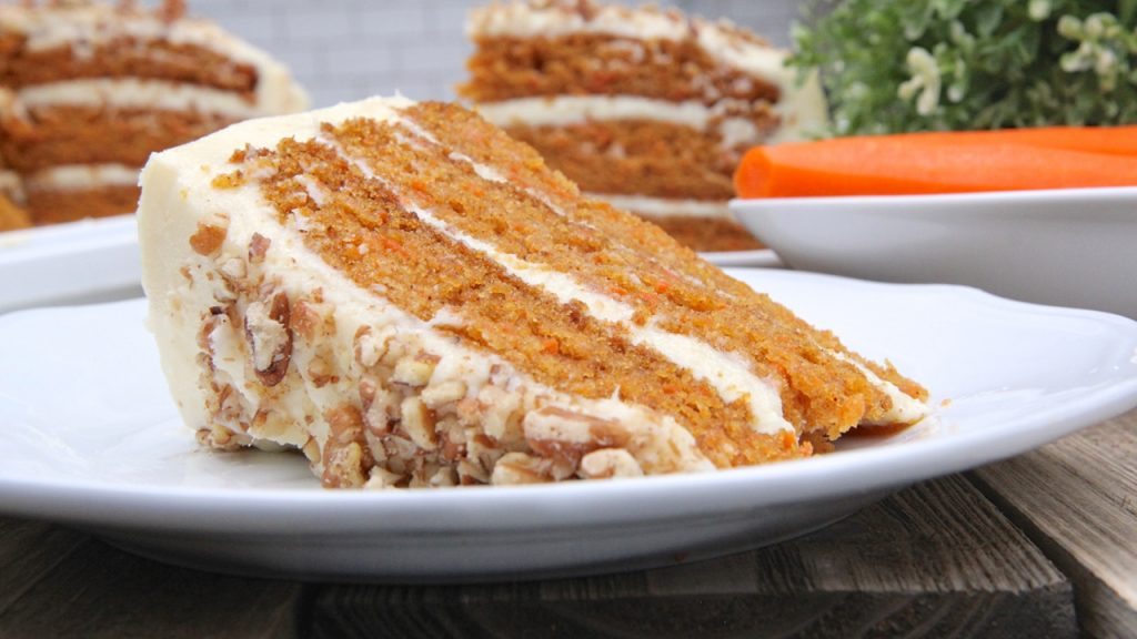 For Some Reason I Only Remember Having Grandma Barbs Carrot Cake Around Easter Time We Had A Lot Of Once Year Recipes Growing Up