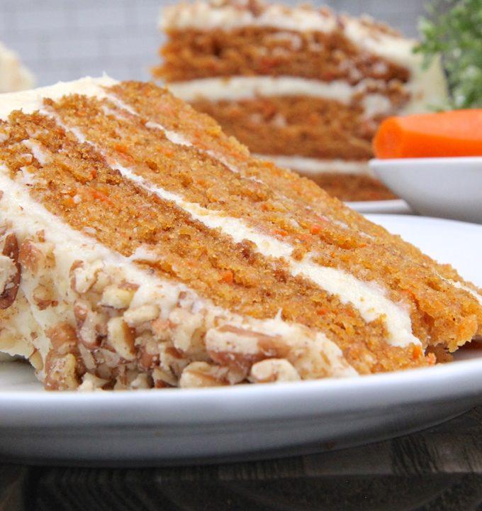 Grandma Barb's Easy Carrot Cake