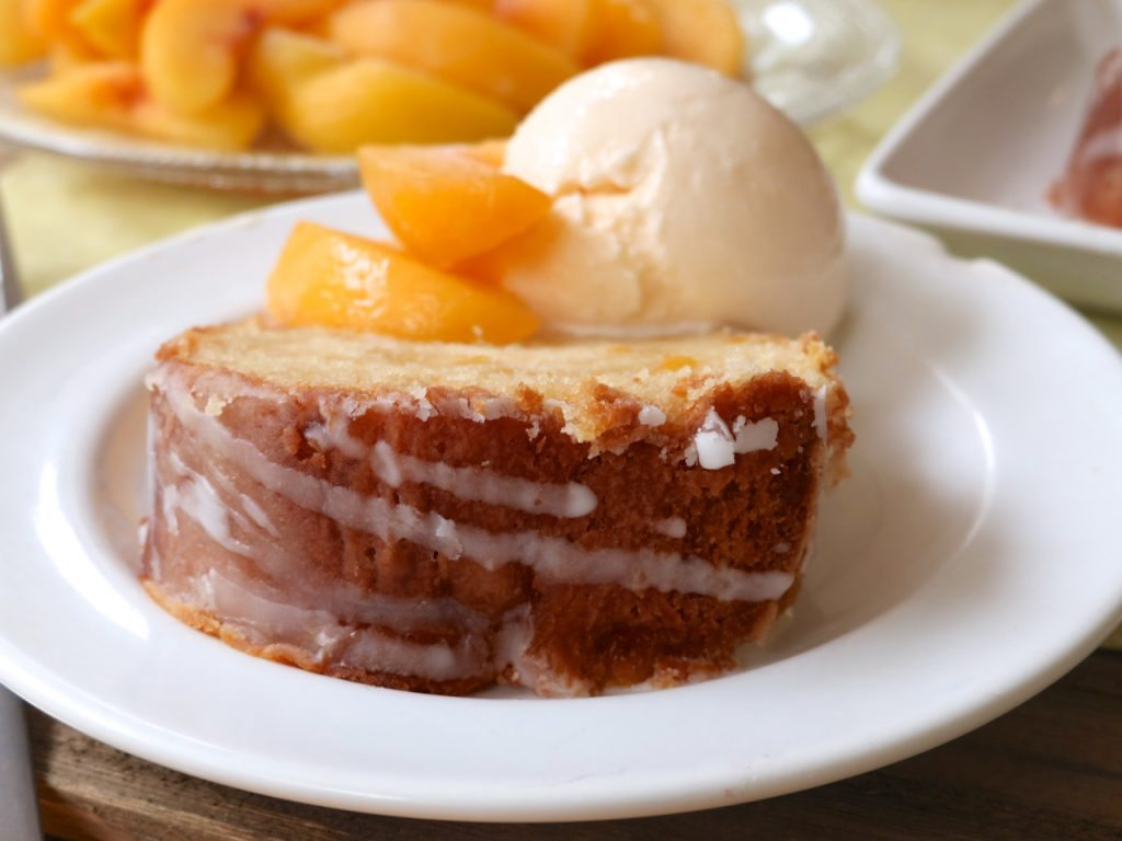 Peach Pound Cake Recipe Easy