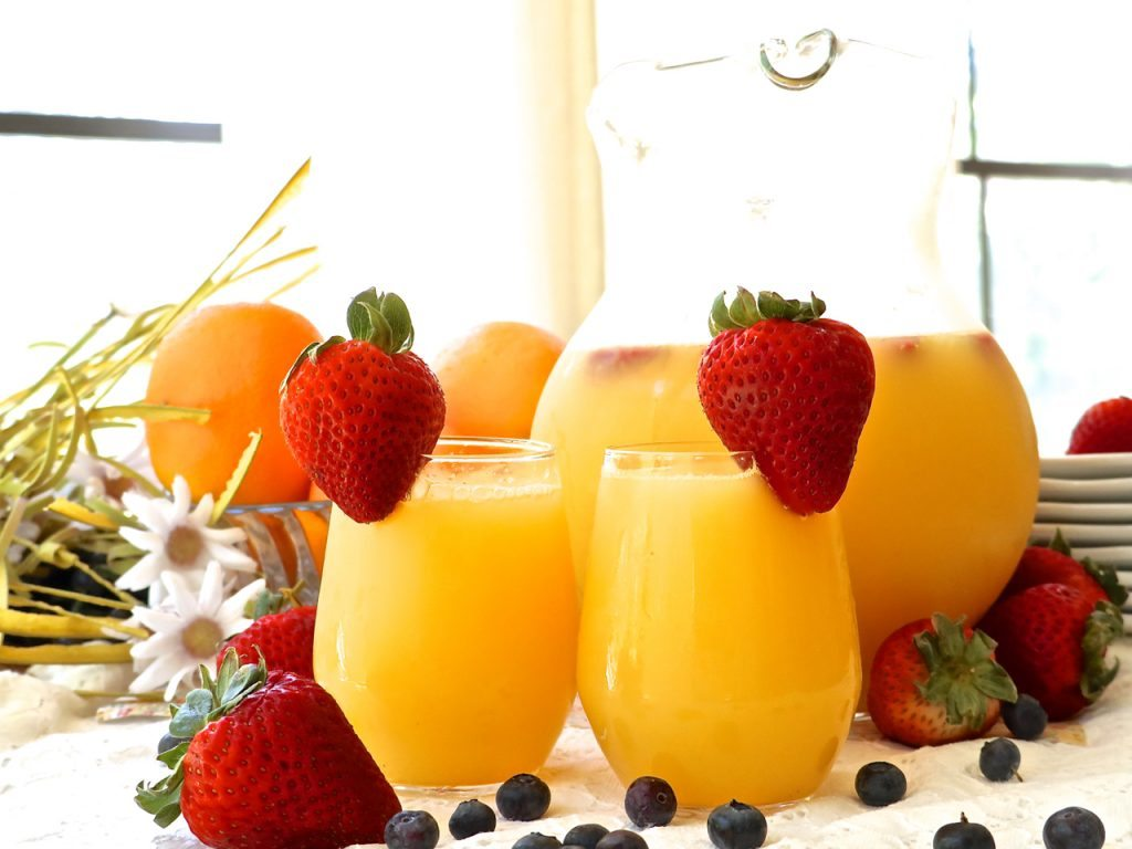 how to make mimosas in a pitcher