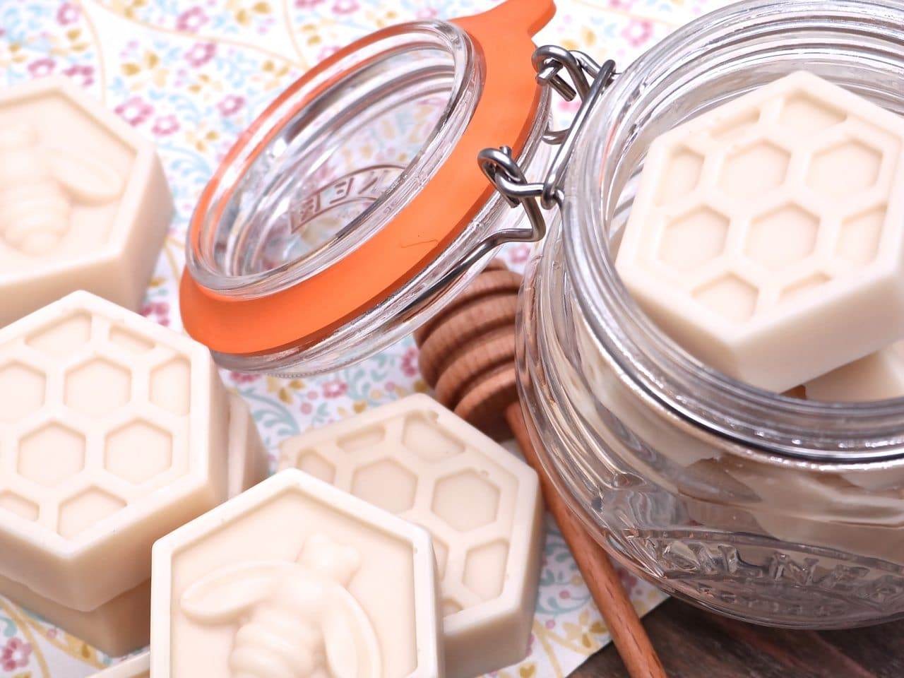 Homemade Milk & Honey Soap Recipe