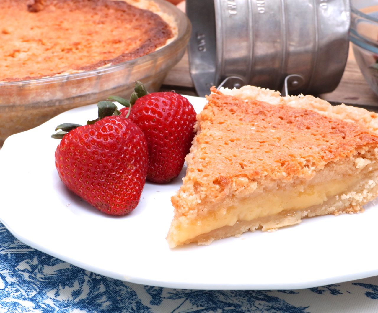 Southern Buttermilk Pie Recipe