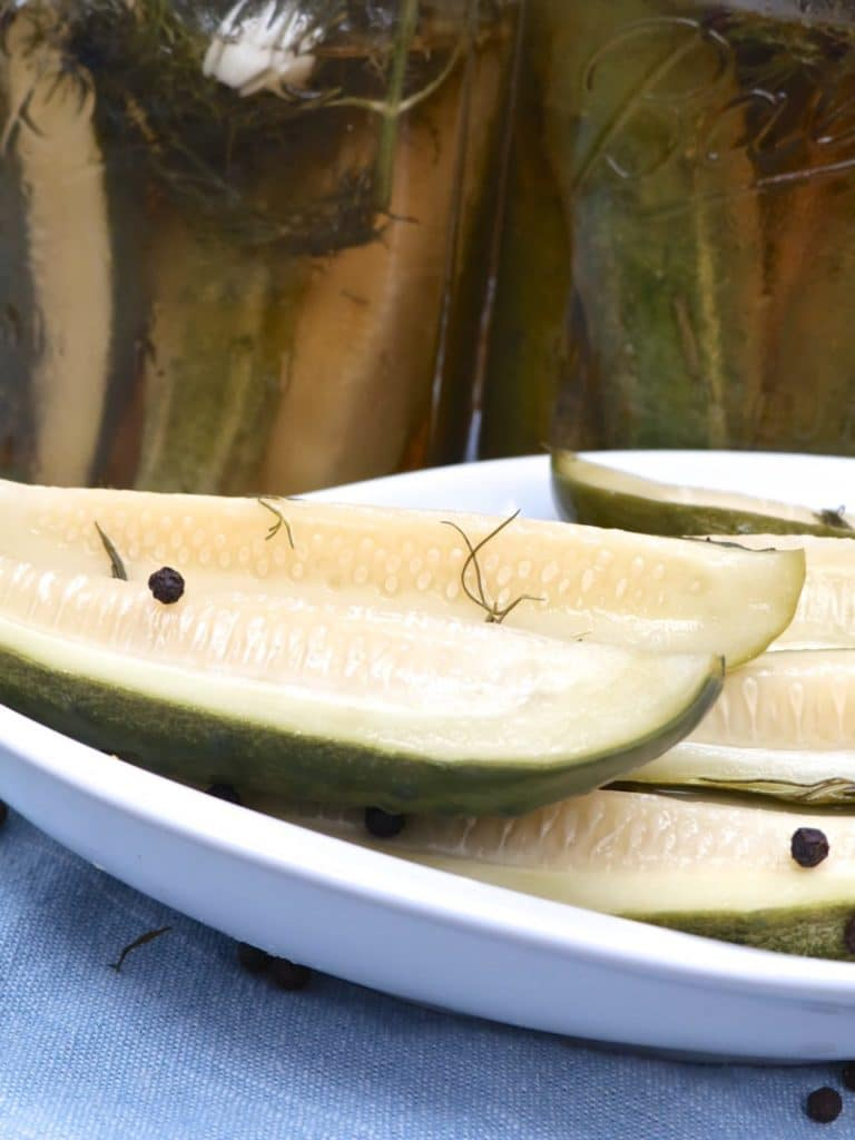 Homemade Dill Pickles Recipe Refrigerator