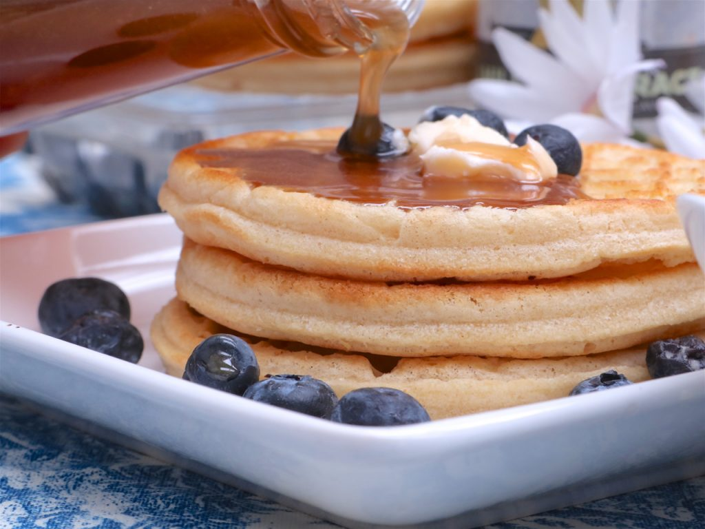 8dafc9f18eb Have you ever had homemade pancake syrup  It s really easy to get spoiled  and not want anything else after you ve had a good from-scratch pancake  syrup.