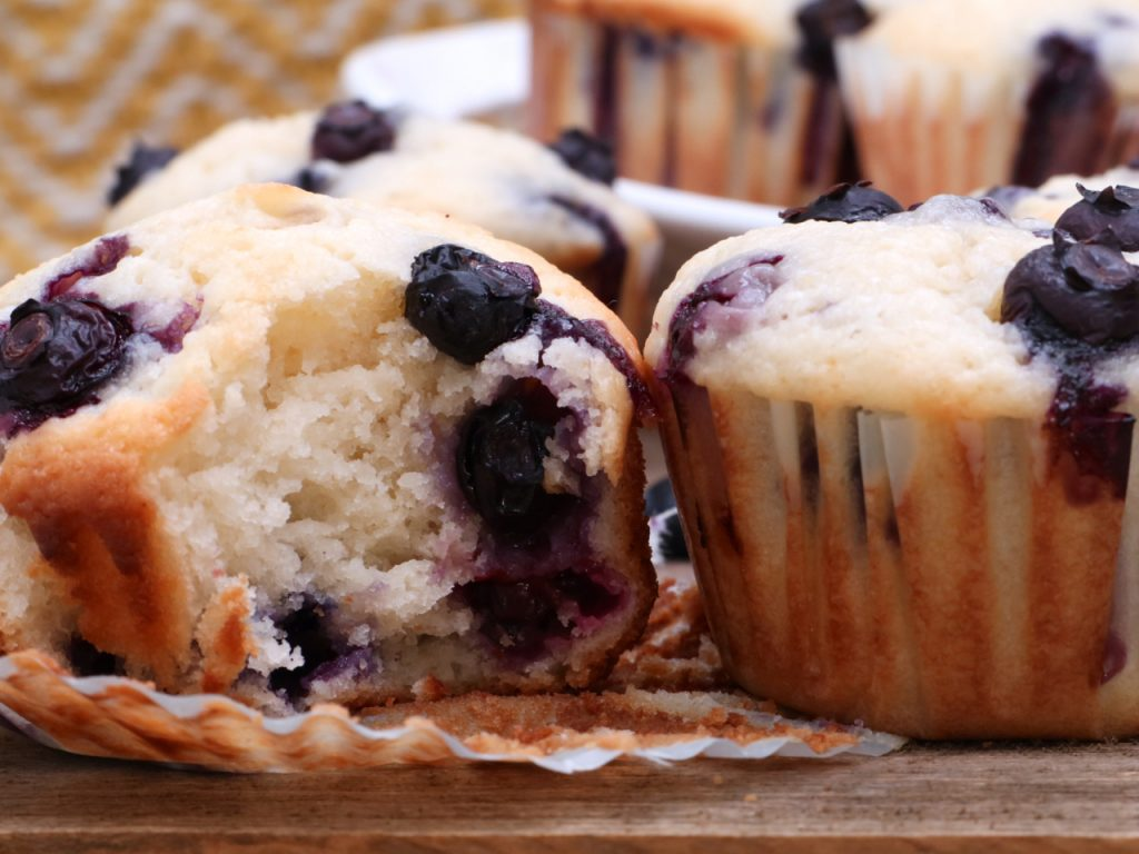 Blueberry Muffins Recipe Bbc Good Food