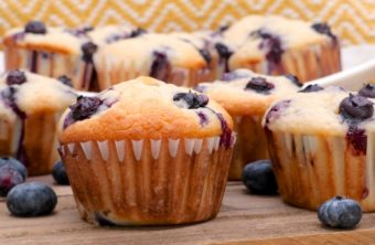 blueberry cream cheese muffins recipe