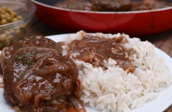 Country Hamburger Steak w/ Onion Gravy