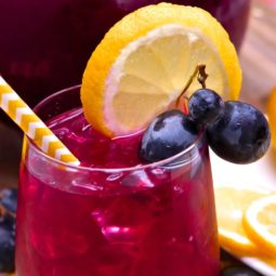 homemade black grape lemonade recipe