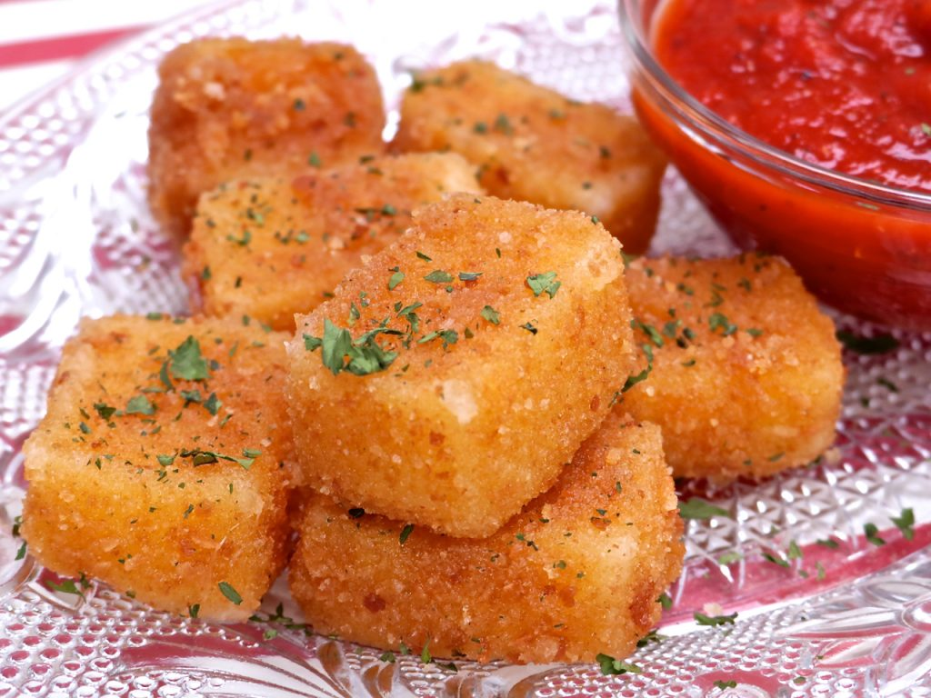 string cheese mozzarella sticks