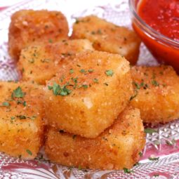 fried mozzarella sticks recipe