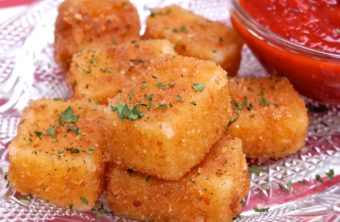 fried mozzarella sticks recipe