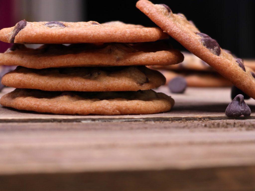 Thin Crispy Chocolate Cookies