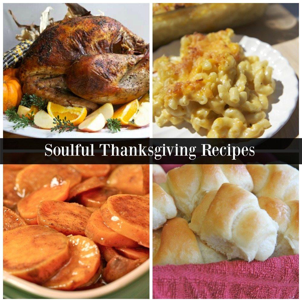 Soul food Thanksgiving recipes