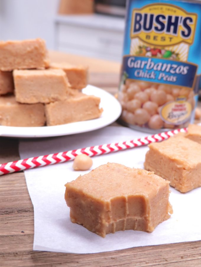 No-Cook Peanut Butter Bean Fudge (Freezer Fudge)